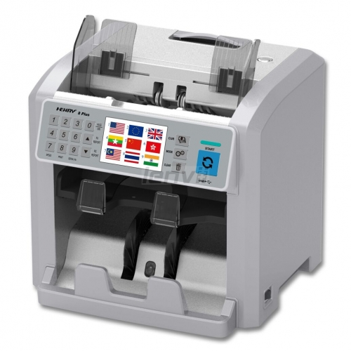 LENVII LV-8S Bill sorting machine, Foreign currency counting machine, currency checking machine, sorting machine