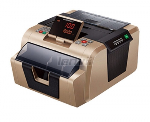 LENVII LV-2900 Fashion double screen LED display foreign currency counting and checking machine