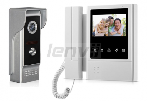 Video Doorbell Building Intercom, Video Intercom, Intercom Doorbell, Video Door Phone  Monitor for Color 7 Inch | LENVII XSL-168-M4