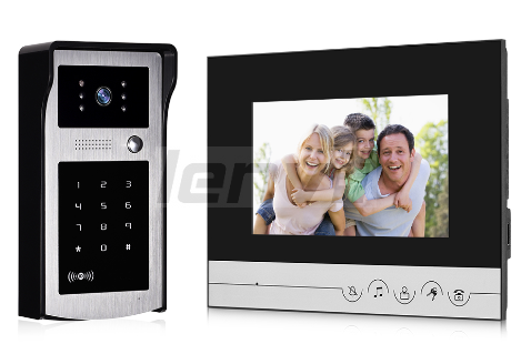 Video Doorbell  Building Intercom, Video Intercom, Intercom Doorbell, Video Door Phone Monitor for Color 7 Inch | LENVII XSL-V70R-IDS