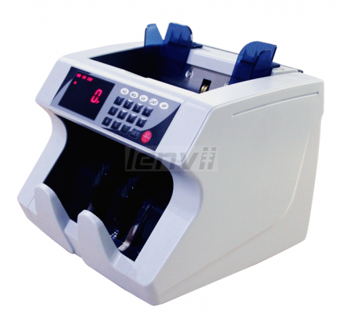 LENVII 1504 Foreign Money Counting US Dollar Euro Multi-Country Currency Detector Universal Currency Counter