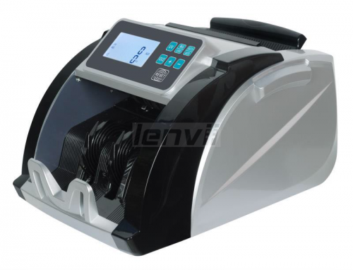 LENVII 6500 Foreign Money Counting US Dollar Euro Multi-Country Currency Detector Universal Currency Counter