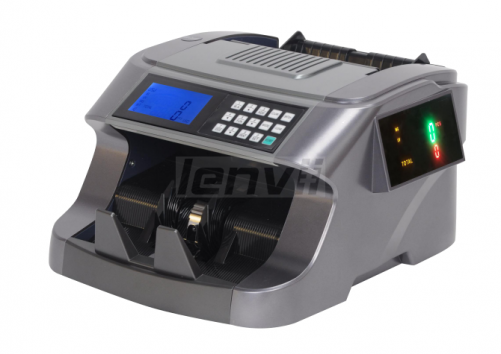 LENVII 6200 Foreign Money Counting US Dollar Euro Multi-Country Currency Detector Universal Currency Counter