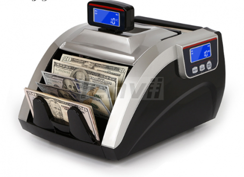 Money Counter Foreign Money Counting US Dollar Multi-Country Currency Detector Universal Currency Counter Euro total | LENVII F19
