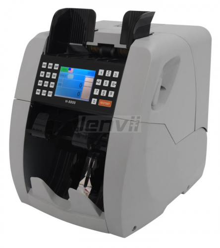 Money Currency Counter Machine with UV/MG, Counterfeit Bill Money Detector, Money Cash Counting Machine  ADD function | LENVII 8900