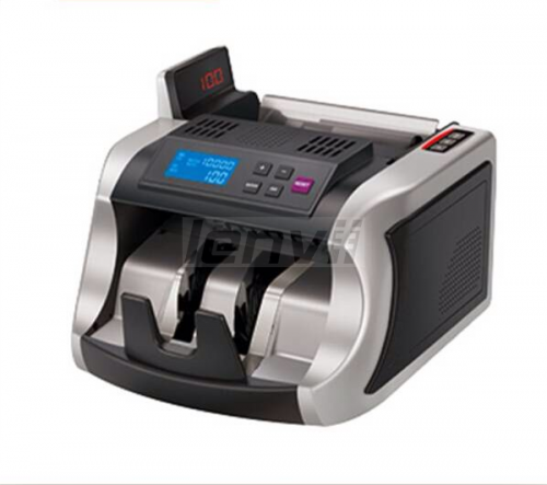 Money Currency Counter Machine with UV/MG, Counterfeit Bill Money Detector,  Bill Cash Counter Machine Money Cash Counting Machine  | LENVII 2600