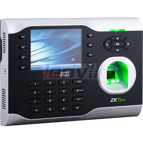ZKTeco iClock300 Fingerprint Password Attendance Machine Optional ID, IC function, can be customized languages