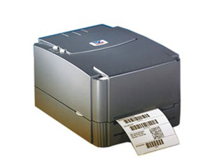 TSC TTP-243E Barcode Label Electronic Surface Single Thermal/Thermal Transfer Printer(Gray)