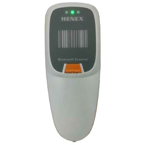 HENEX HC-2000R Mini Wireless Barcode Scanner 1D&2D Portable Barcode Reader, Compatible With Bluetooth and 2.4G Wireless, Pocket Image QR Barcode Reade