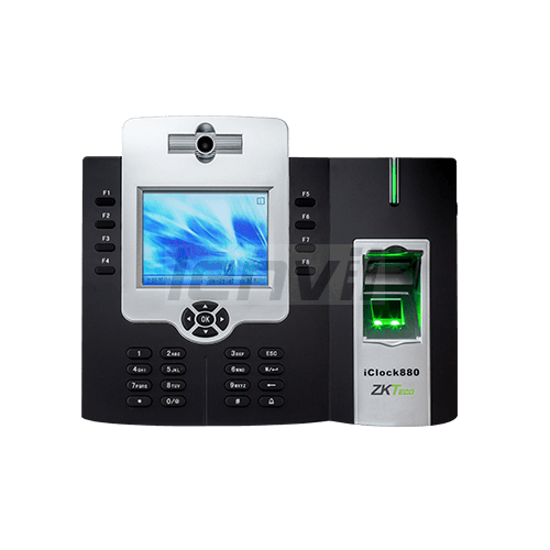 ZKTeco iClock880 Fingerprint Recognition Time Attendance Terminal