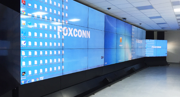 Foxconn projects - 49 inch 4.9mm lcd video walls