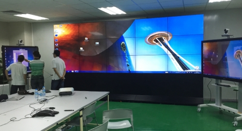 3x5 49 inch 4.9mm LCD video walls for FOXCONN