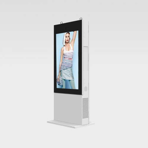 Street Stand IP65 Square Corner Outdoor Digital Signage