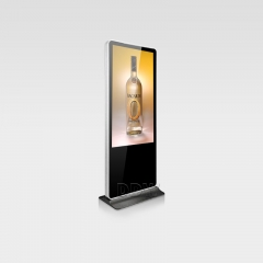 iPhone Shape Round Corner LCD Digital Signage
