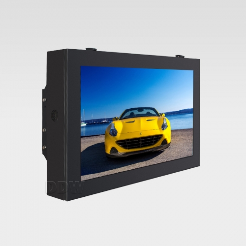 Wand montieren landschaft quadrat ecke outdoor lcd digital signage