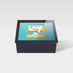 Floor stand outdoor touch screen tablet