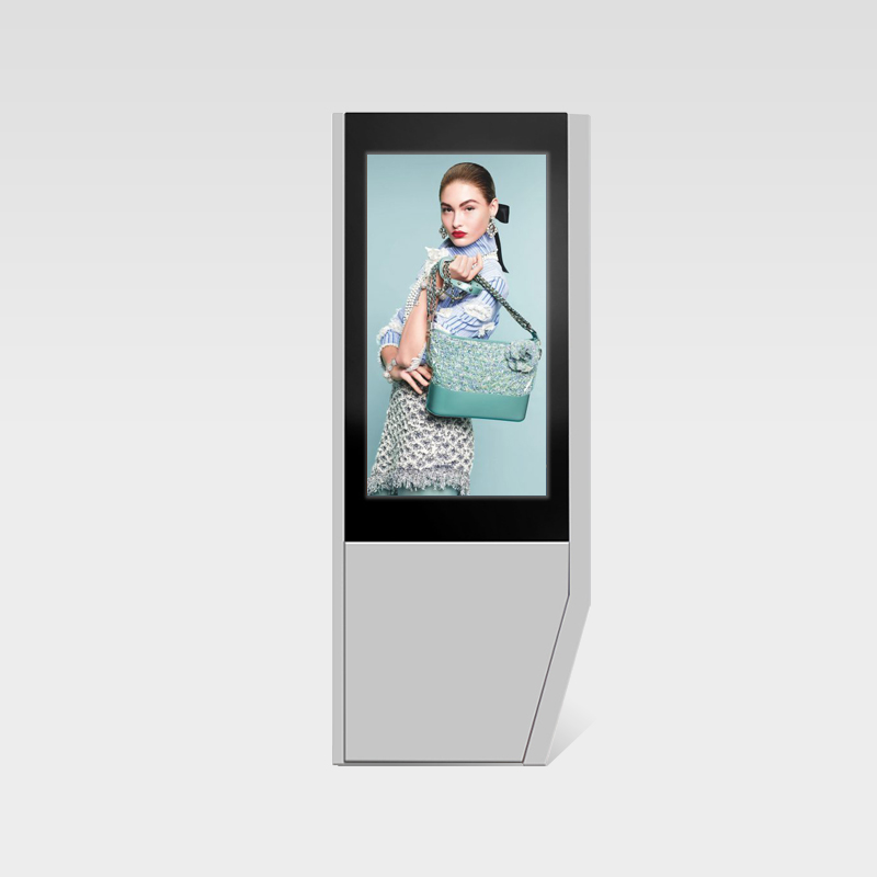 Floor standing Double-sided screen outdoor advertising lcd display