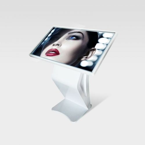White color K-style touch screen koisk