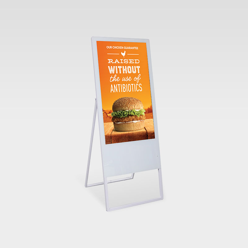Portable LCD Digital Poster