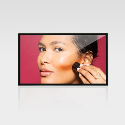 Wall mount LCD advertising player