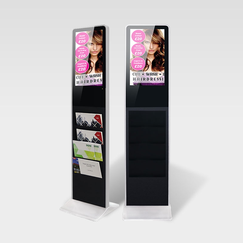 Newspaper Advertising LCD Digital Signage Kiosk