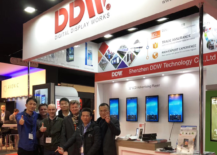 DDW won Big success in ISE2018 exhibition