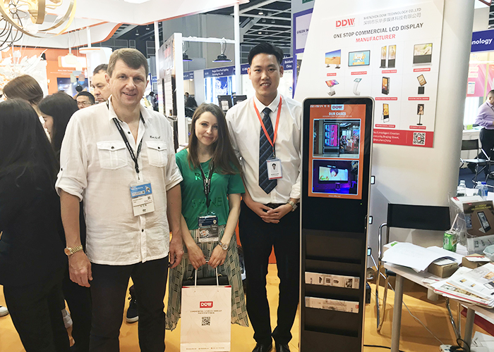 Shenzhen DDW Technology Co., Ltd. appeared at the Hong Kong International Lighting Fair (Spring Edition)