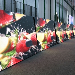 P2.5 P3 P3.07 P4 P5 outdoor fix led display for advertising
