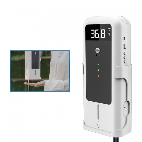 Auto Temperature Instrument with Free Hands Wash Sanitizer