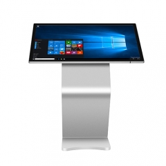 Stylish 49 55 65 inch LCD capacitive touch screen Kiosk