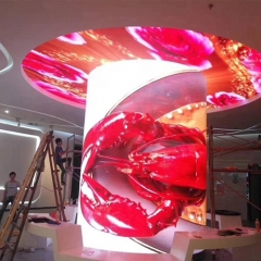P5 rubber designed flexible led display