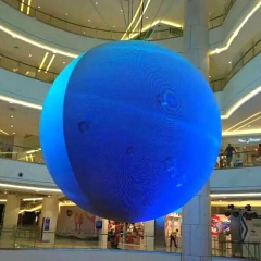 P3 P4 P5 P6 sphere led displays 360 degree flexible full color indoor ball sphere led screen