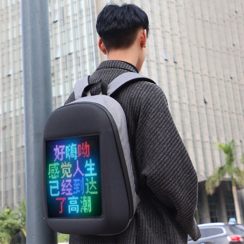 Scrolling Led Sign Backpack Billboard