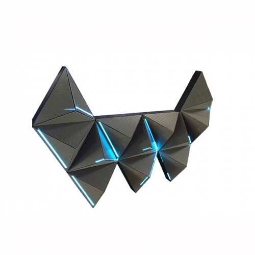 Indoor Horns-Shape Full Color DJ Led Screen Night Club/Bar/Disco Led Display Screen Ceatived Shape