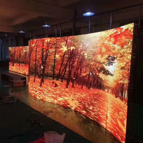 Indoor p3.91 Curved led panel Front maintenance