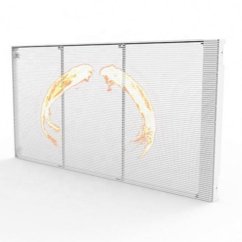 P3.9 P5.2 P7.8 P10 transparent led display for shop window