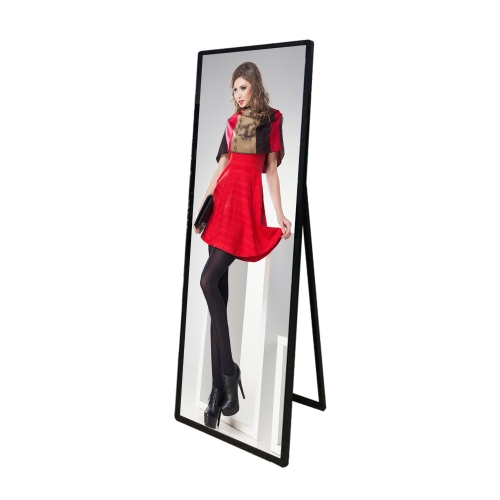 "68"" stretched LCD Shelf Standing"