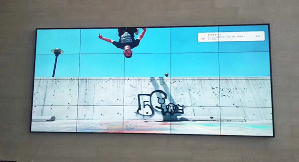 LG 46 inch 0.88mm 500 ints lcd video wall for exhibition hall
