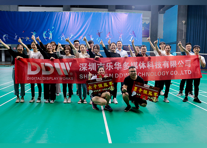 The First DDW's Badminton Competition