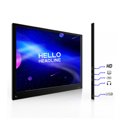 15.6 inch IPS 1080P Portable Display Screen