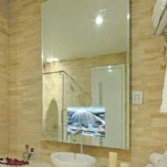 Bathroom build in Mirror TV