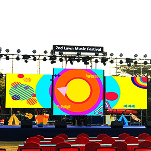 P4.81 rental led display outdoor for stage
