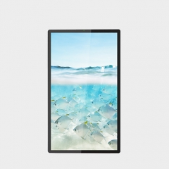 IP66 wall mount ultra thin outdoor lcd digital signage