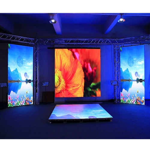 Indoor roof ceiling mount Die Casting P5 LED Display Screen