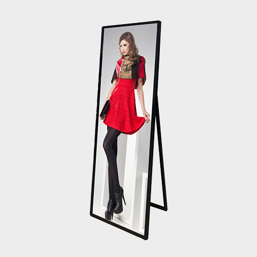 Floor Stand Stretched Shelf LCD Screen