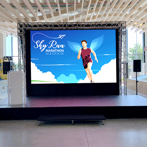 P2.9 P3.91 rental led display indoor for exhibition