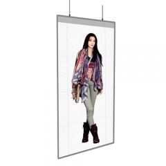 P1.73 P2 Ceiling mount Transparent LED display screen
