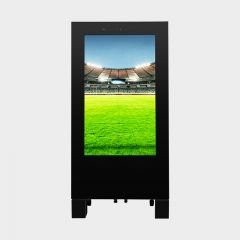 A Shape Outdoor Advertising Board Digital Signage