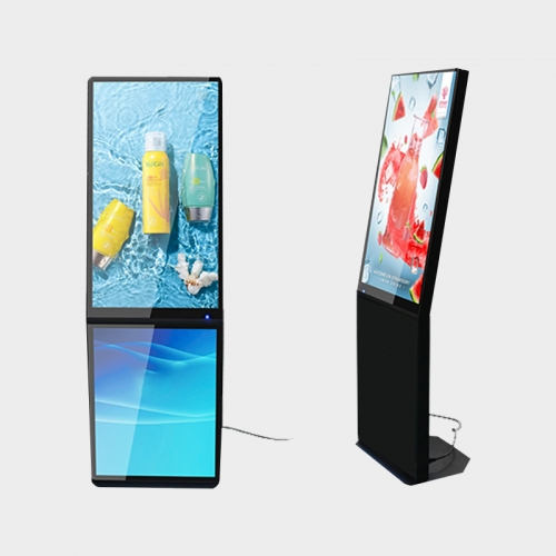 Dual Screen L Frame LCD Digital Signage
