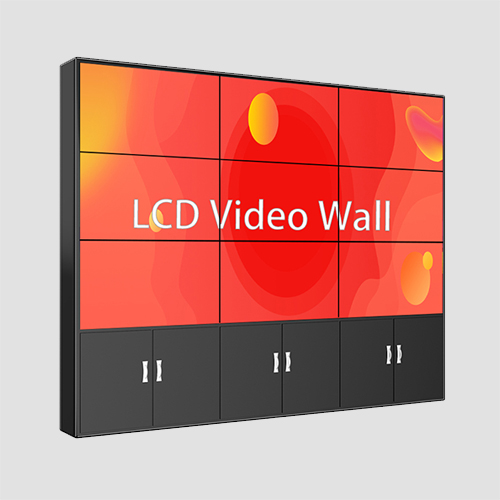 55 inch LCD BOE video wand display